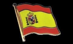 Spain Flag Pin, Badge - 1 x 1 inch