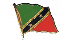 Saint Kitts and Nevis Flag Pin, Badge - 1 x 1 inch