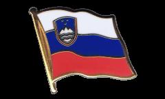 Slovenia Flag Pin, Badge - 1 x 1 inch