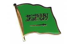 Saudi Arabia Flag Pin, Badge - 1 x 1 inch