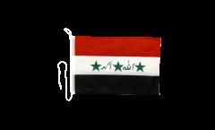 Iraq old 1991-2004 Boat Flag - 12 x 16 inch