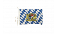 Germany Bavaria  lion Boat Flag - 12 x 16 inch