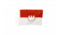 Germany Franconia Boat Flag - 12 x 16 inch
