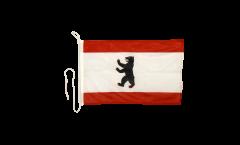 Germany Berlin Boat Flag - 12 x 16 inch