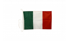 Italy Boat Flag - 12 x 16 inch