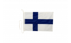 Finland Boat Flag - 12 x 16 inch