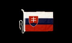 Slovakia Boat Flag - 12 x 16 inch