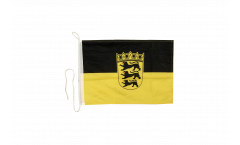 Germany Baden-Württemberg Boat Flag - 12 x 16 inch