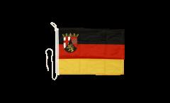 Germany Rhineland-Palatinate Boat Flag - 12 x 16 inch