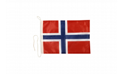 Norway Boat Flag - 12 x 16 inch