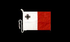 Malta Boat Flag - 12 x 16 inch