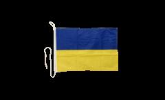 Ukraine Boat Flag - 12 x 16 inch