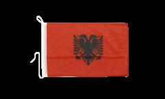 Albania Boat Flag - 12 x 16 inch