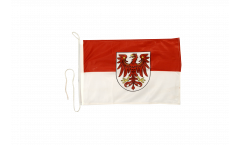Germany Brandenburg Boat Flag - 12 x 16 inch