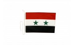 Syria Boat Flag - 12 x 16 inch