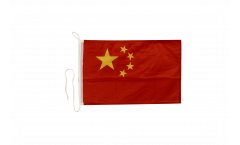 China Boat Flag - 12 x 16 inch
