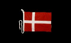 Denmark Boat Flag - 12 x 16 inch