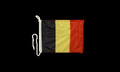 Belgium Boat Flag - 12 x 16 inch