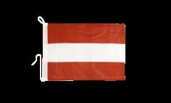 Austria Boat Flag - 12 x 16 inch