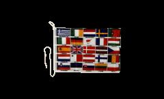 EU 25 countries Boat Flag - 12 x 16 inch