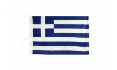 Greece Boat Flag - 12 x 16 inch