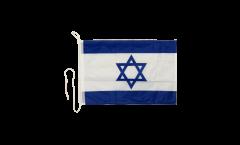 Israel Boat Flag - 12 x 16 inch