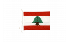 Lebanon Boat Flag - 12 x 16 inch