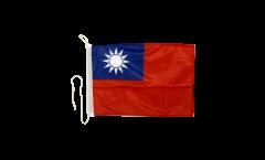 Taiwan Boat Flag - 12 x 16 inch