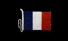 France Boat Flag - 12 x 16 inch