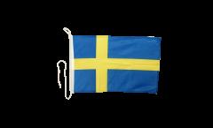 Sweden Boat Flag - 12 x 16 inch