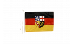 Germany Saarland Boat Flag - 12 x 16 inch