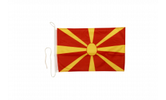 Macedonia Boat Flag - 12 x 16 inch