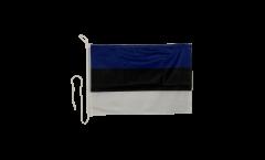 Estonia Boat Flag - 12 x 16 inch