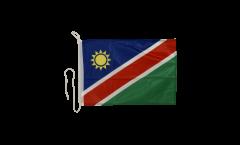 Namibia Boat Flag - 12 x 16 inch