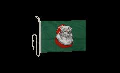 Santa Claus Boat Flag - 12 x 16 inch