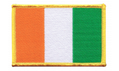 Ivory Coast Patch, Badge - 3.15 x 2.35 inch