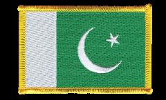 Pakistan Patch, Badge - 3.15 x 2.35 inch