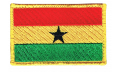 Ghana Patch, Badge - 3.15 x 2.35 inch