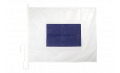 Sierra (S) Nautical Signal, Boat, Sail Flag - 75 x 90 cm