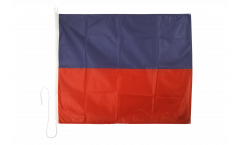 Echo (E) Nautical Signal, Boat, Sail Flag - 75 x 90 cm