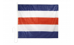 Charlie (C) Nautical Signal, Boat, Sail Flag - 75 x 90 cm