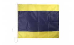 Delta (D) Nautical Signal, Boat, Sail Flag - 75 x 90 cm