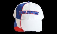 Czech Republic Cap, white-blue, flag