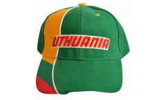 Lithuania Cap, green-yellow, flag
