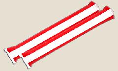 Austria Airsticks - 3.95 x 23.65 inch