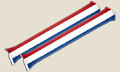 Netherlands Airsticks - 3.95 x 23.65 inch