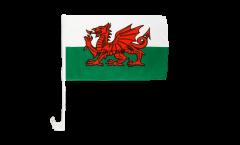 Wales Car Flag - 12 x 16 inch
