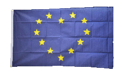 European Union EU Heart Flag - 3 x 5 ft. / 90 x 150 cm