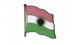 Kurdistan Flag Pin, Badge - 1 x 1 inch