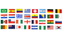Flag Pack World Cup 2014 - 150 x 250 cm